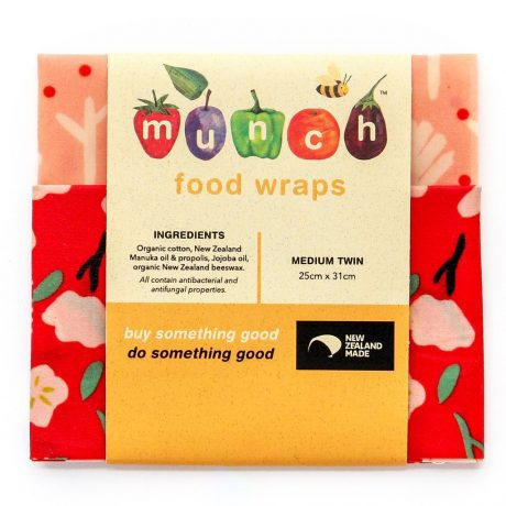 Munch Beeswax Food wraps - 3 sizes