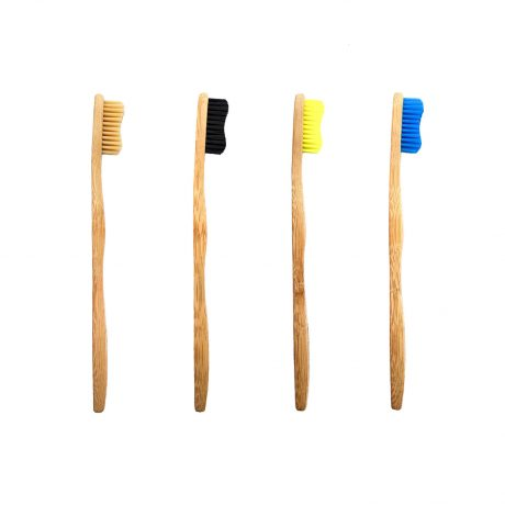 Bamkiki Eco-friendly Bamboo Toothbrushes