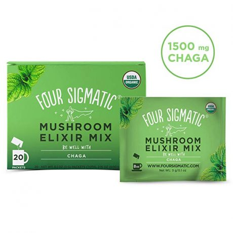 Four Sigmatic Mushroom Elixir 3g Packets With Chaga