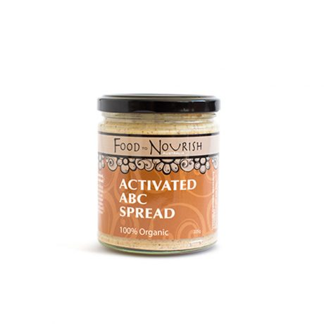 Food to Nourish Activated ABC Spread 225g