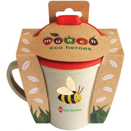 Munch Eco Hero Toddler Cup - Bee