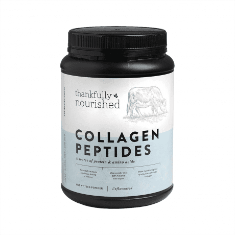 Thankfully Nourished Collagen Peptides 750g