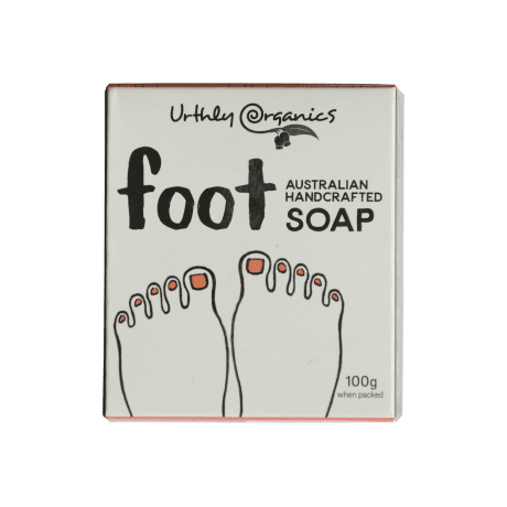 UrthlyOrganics Foot Soap 100g