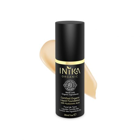 Inika Organic Liquid Foundation with Hyaluronic Acid 30ml