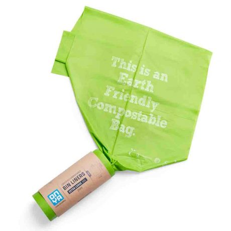 Onya Compostable Bin Liners Extra Large 60L x 25pk