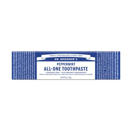Dr Bronner's Toothpaste Peppermint 140g & 28gm