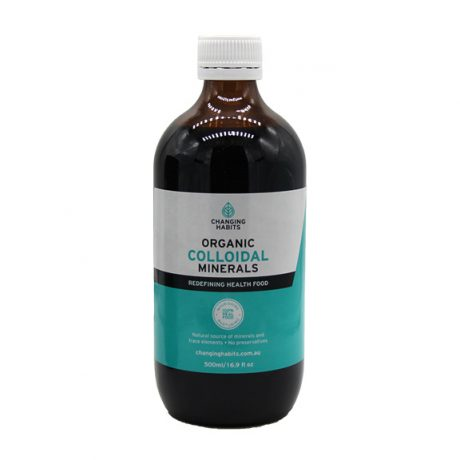 Changing Habits Colloidal Minerals 500ml