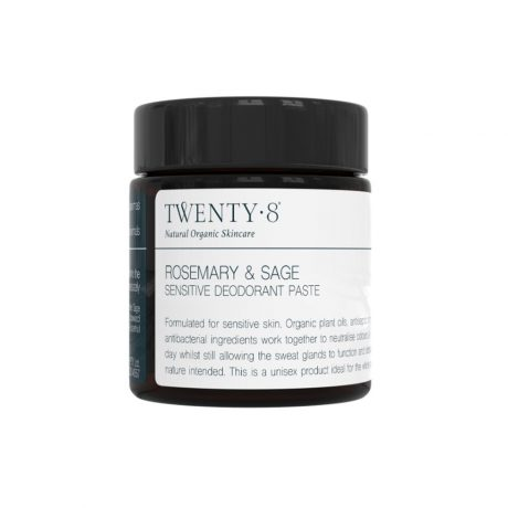 Twenty8 Rosemary & Sage Sensitive Deodorant Paste 40g