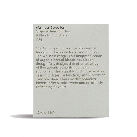 Love Tea Wellness Sample Selection 8 Pyramids