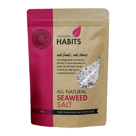 Changing Habits All Natural Seaweed Salt