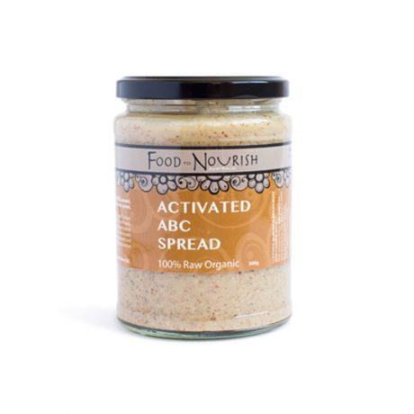 Food To Nourish Activated ABC Spread 450g