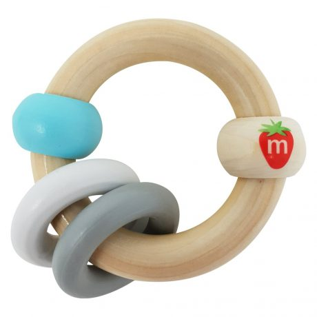 Munch - Wooden Bracelet Soothing Toy - Blue