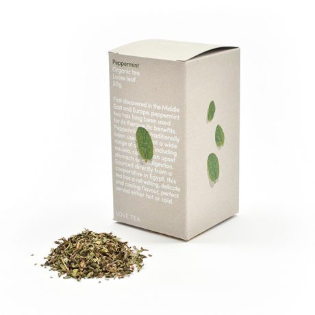 Love Tea Peppermint Loose Leaf Tea 50g