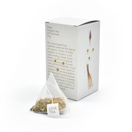 Love Tea Sleep Pyramids 20 Bags