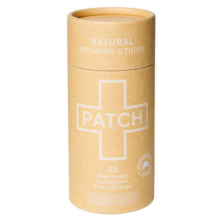 Patch Adhesive Bamboo Bandages - Natural for Cuts & Scratches 25