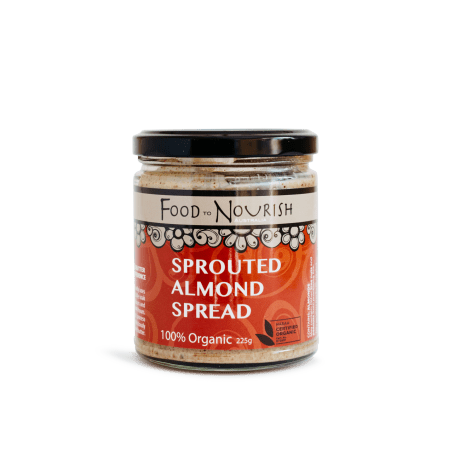 Food To Nourish Sprouted Almond Spread 225g
