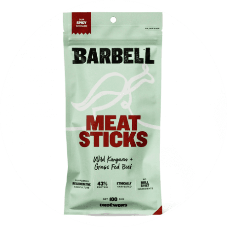 Barbell Foods Meat Stick - Spicy Sichuan 100g