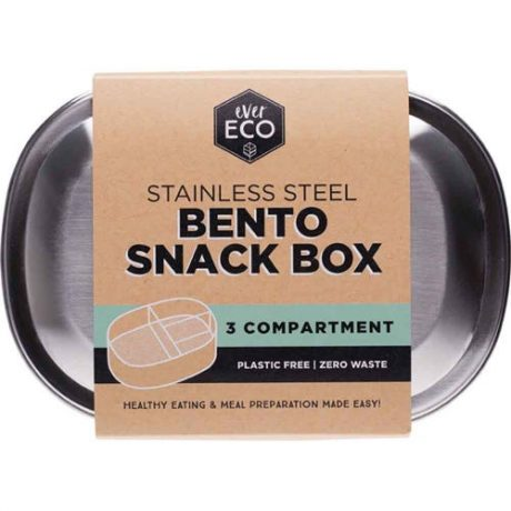 Ever Eco Stainless Steel Bento Box 1 Compartment
