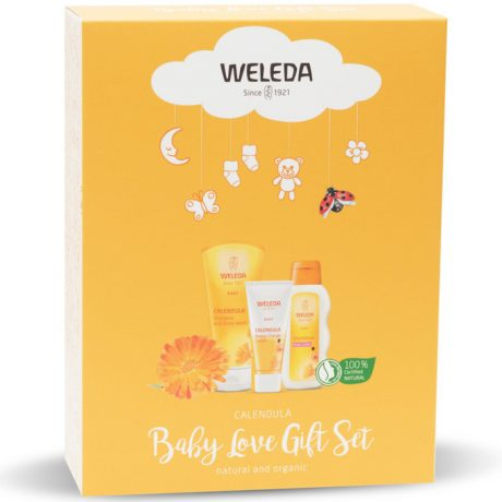 Weleda Calendula Baby Love Gift Pack of 3