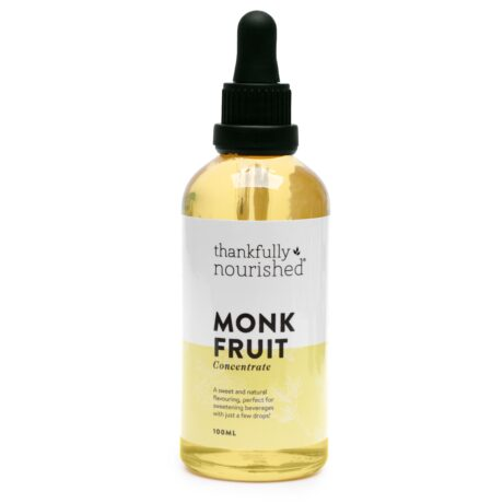 Thankfully Nourished Monk Fruit Concentrate 100ml