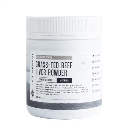 Cell Squared Organic Grass-Fed Beef Liver Powder